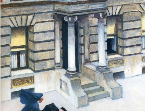 New York Pavements–Edward Hopper